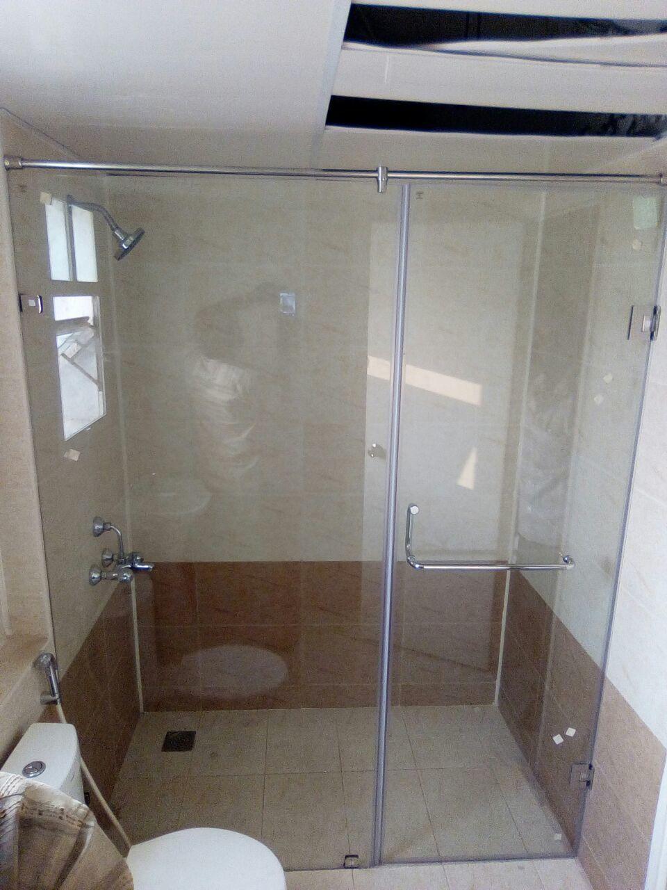 Frameless Shower Door Enclosure