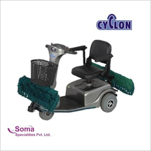 Industrial Scooter Mopping Machine