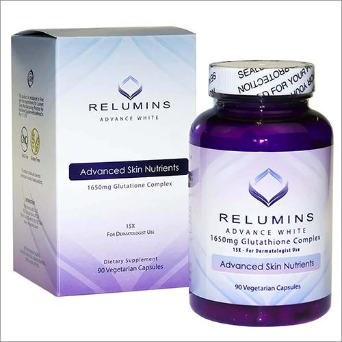 Relumins 1650 MG Advance White Glutathione Complex