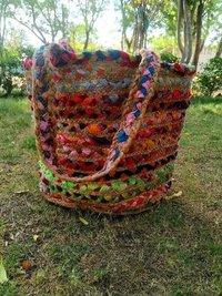 Natural Antique Handmade jute Bag