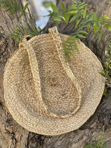 Plain Eco Friendly Hand Woven Jute Bag