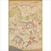 Hunting Paintings (Miniature)