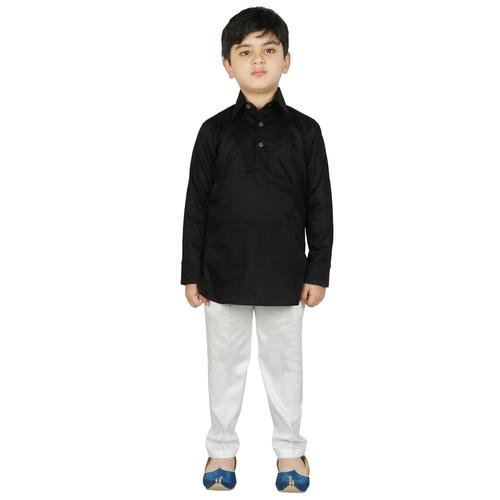 Cotton Pathani Kurta With Pant