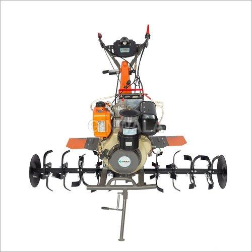 Shrachi 8D6 Diesel Power Weeder 8 HP 6 Speed Gearbox Electric Start