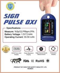 A Sign Pulse Digital Finger TIP Oximeter