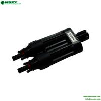 Waterproof Movable Jack Solar Inline Fuse Connector Branch Fuse Connector 1500vdc