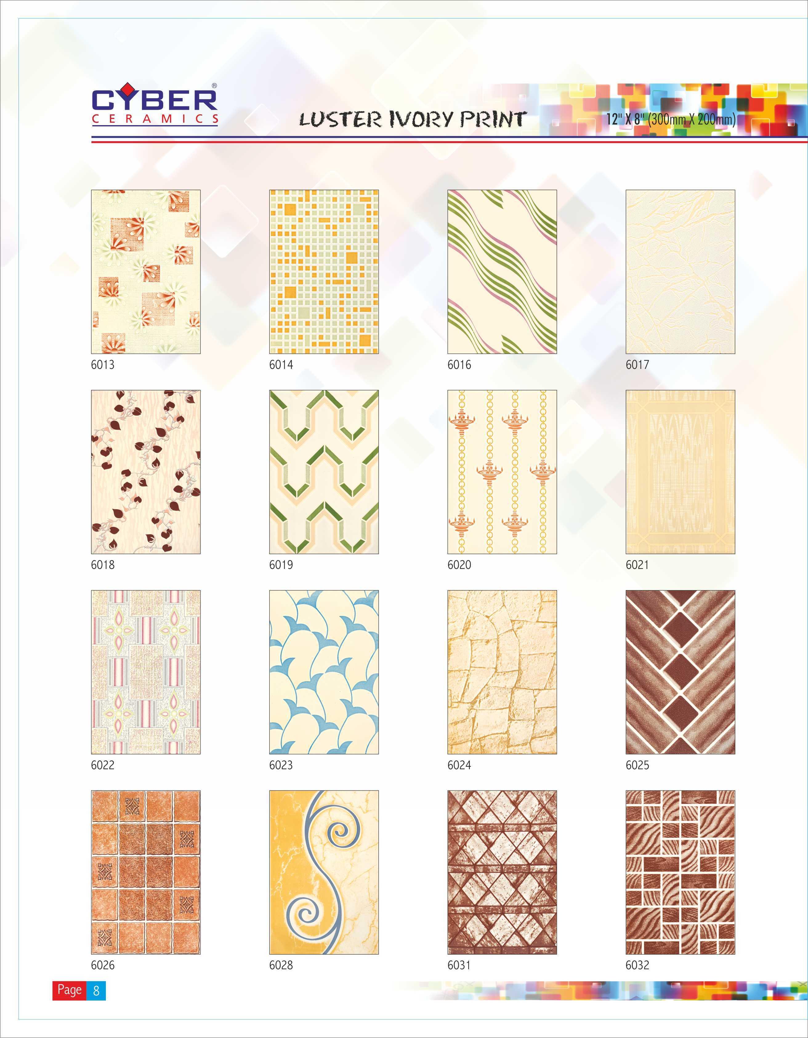 ceramic tiles liberia 20X30 CM WALL TILES