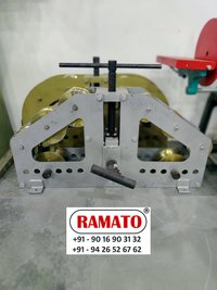RAMATO pipe bending machine  By Rajlaxmi Machine Tools Rajkot Gujarat INDIA