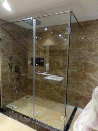 Shower Glass Sliding Partition