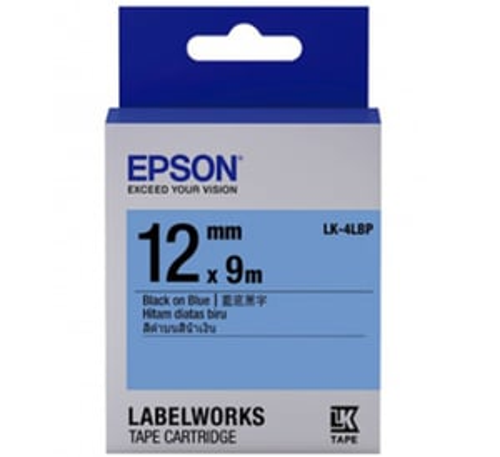 LK-4LBP 12MM B/B Label Tape