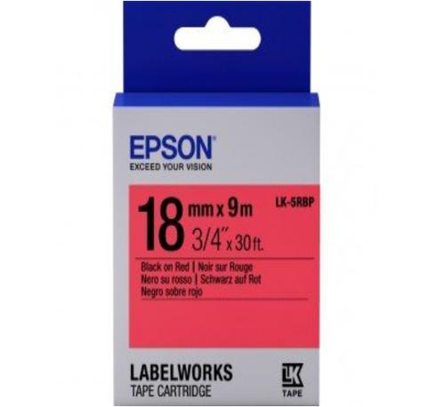 LK-5RBP 18MM B/R Label Tape