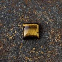 8mm Tiger Eye Square Cabochon Loose Gemstones