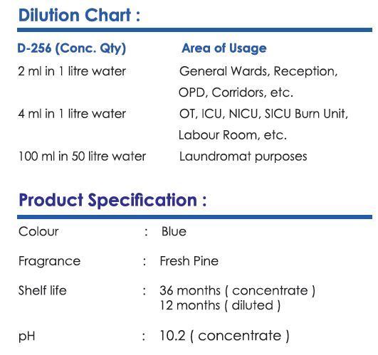 Microgen D256 Disinfectant