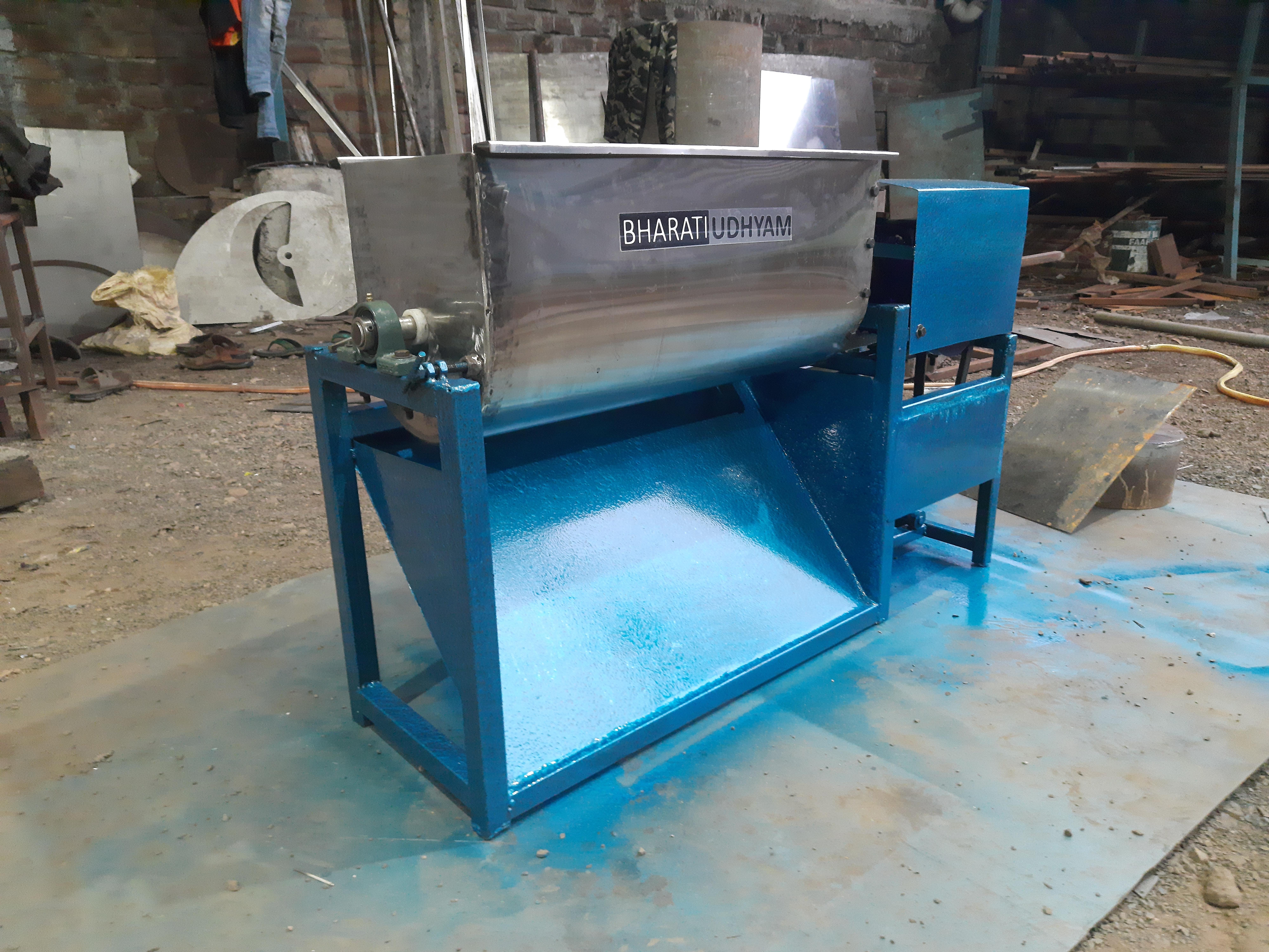 Horizontal Dough Mixer Machine