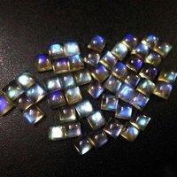 8mm Labradorite Square Cabochon Loose Gemstones