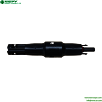 1500v Dc Solar Straight Inline Fuse Connector Solar Ip68 Fuse Connector Matching Mc4 Connector With Solar Cable