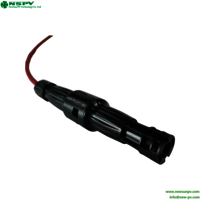 1500v Dc Solar Straight Cable Fuse Connector With Inline Fuse 15a Or 30a  Ip67 Matching Mc4 Connector