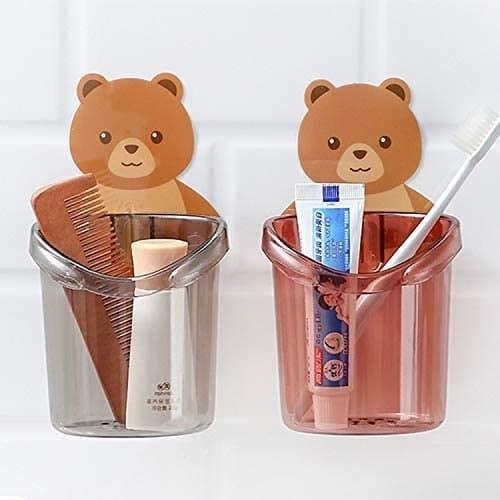 TEDDY BEAR TOOTH BRUSH HOLDER