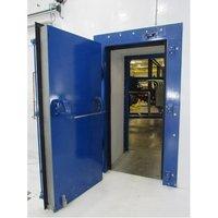Acoustic Mild Steel Door