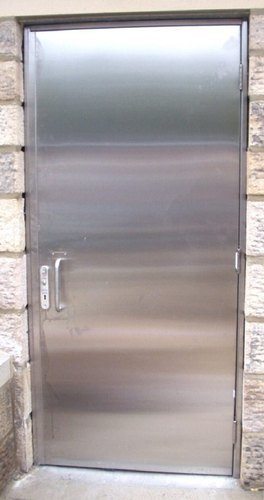 Acoustic Safety Door