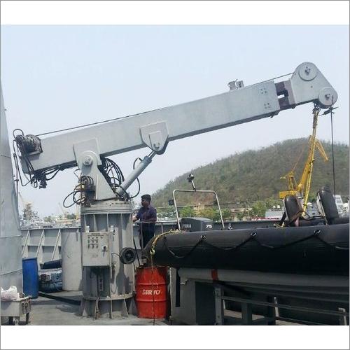 TB3-7.5 Telescopic Boom Marine Crane