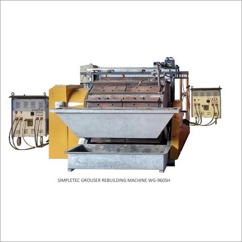 Grouser Rebuilding Machine