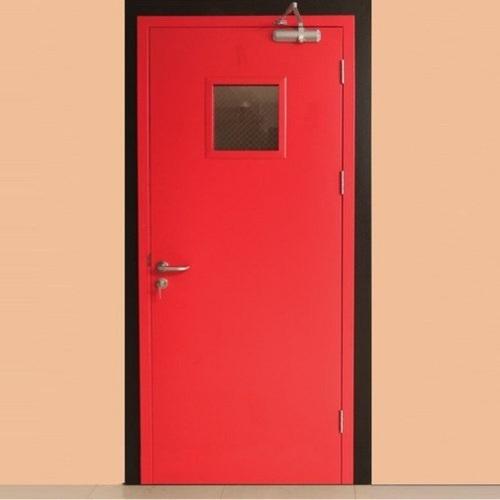 Mild Steel Hinged Fire Resistant Safety Doors