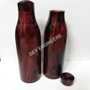 East Indian Rosewood Copper Water Bottle