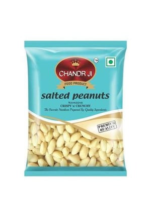 Salted peanuts Laminated Pouches