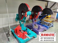 RAMATO  cut off machine   By Rajlaxmi Machine Tools Rajkot Gujarat INDIA