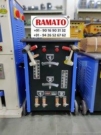 RAMATO  regulator base welding    By Rajlaxmi Machine Tools Rajkot Gujarat INDIA