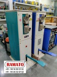 RAMATO  pedastel spot welding machine  By Rajlaxmi Machine Tools Rajkot Gujarat INDIA