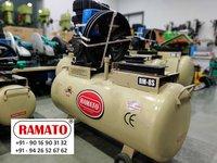 RAMATO  air compressor   By Rajlaxmi Machine Tools Rajkot Gujarat INDIA