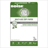 11 inch x 17 inch, 20lb, 92-Bright, 5 Reams of 500 Sheets Boise X-9 Multipurpose Paper