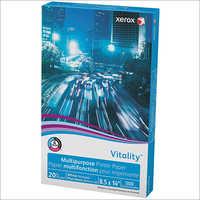 Legal, 20lb, 92-Bright, 500 Sheets Xerox Vitality Multipurpose Printer Paper