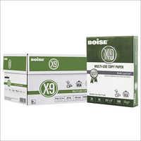 8.5x11 Letter, 20lb, 92-Bright, 10 Reams of 500 Sheets Boise X-9 Multipurpose Copy Paper