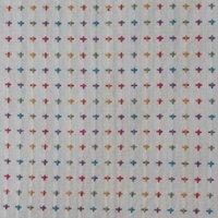 Organic Cotton Checked Dobby Jacquard Fabric