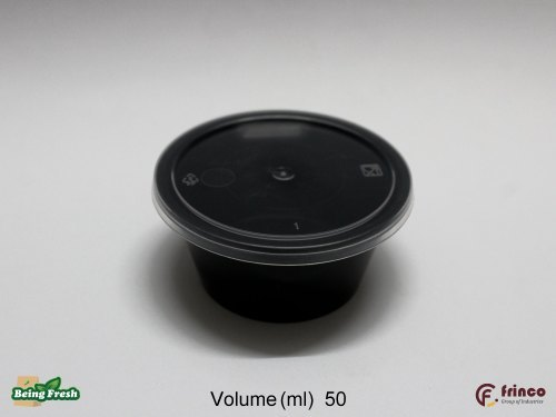 50ml Food Container Round