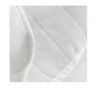 Checked Bamboo Muslin Fabric Dobby