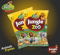 Jungle Zoo Snacks Packaging Pouches