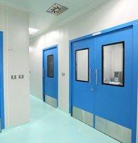 Iron Scientific Clean Room Door