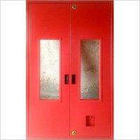 Metal Hinged Fire Door