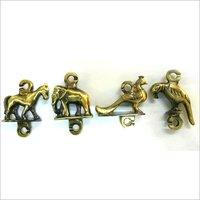 Brass Jhula Animal Set Heavy
