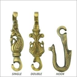 Brass Jhula Peacock Set
