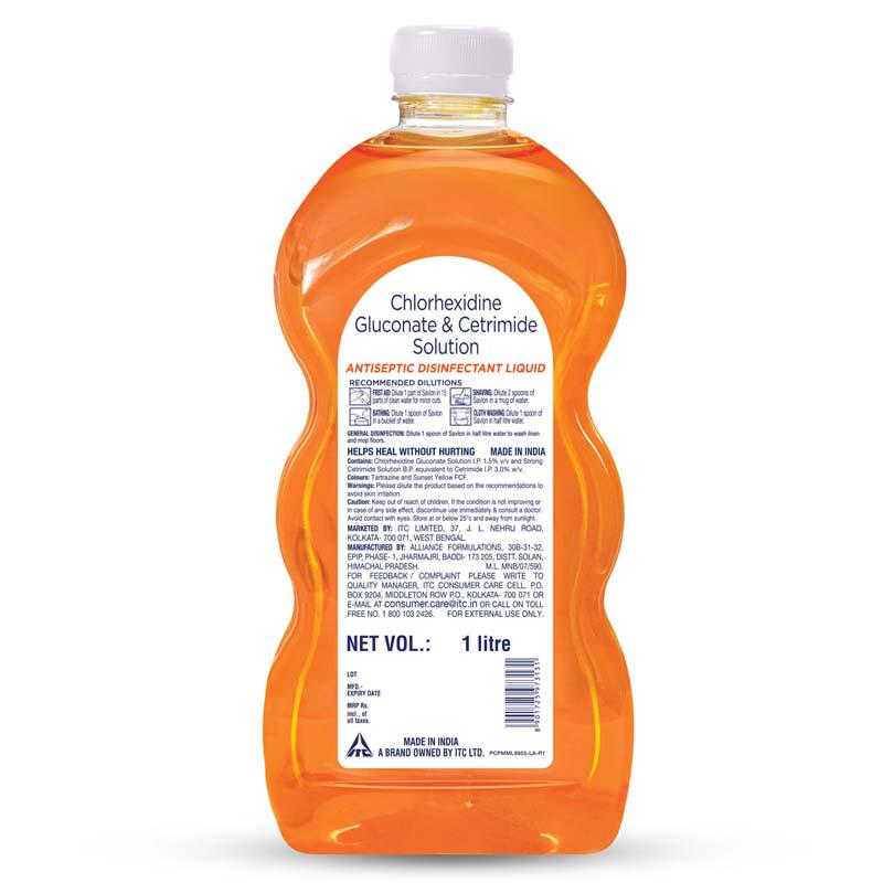 1000 ml Savlon Antiseptic Liquid