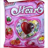 Heart Liquid Centre Filled Candy