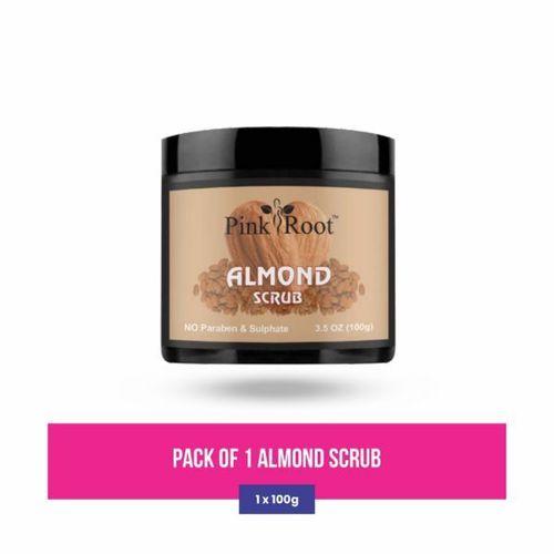 Pink Root Almond Scrub