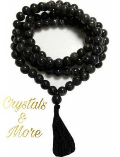 Obsidian Mala