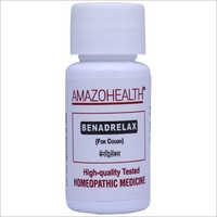 Benadrelax Homeopathic Medicine For Cough