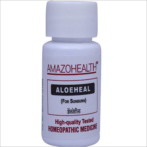 Aloeheal Homeopathic Medicine For Sunburn